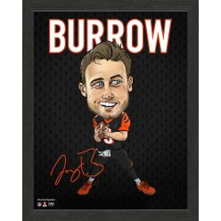 Joe Burrow Framed Pro Dynamo