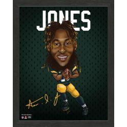 Aaron Jones Framed Pro Dynamo