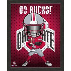 Ohio State University Buckeyes Framed Collegiate Dynamo