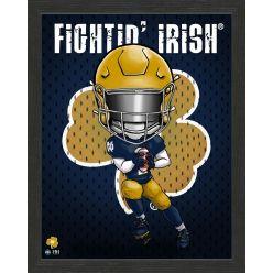 University of Notre Dame Fighting Irish Framed Collegiate Dynamo