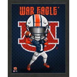 Auburn University Tigers Framed Collegiate Dynamo