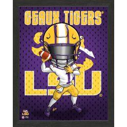 Louisiana State University Tigers Framed Collegiate Dynamo
