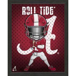 University of Alabama Crimson Tide Framed Collegiate Dynamo