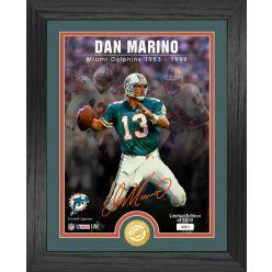 Dan Marino Signature Series Bronze Coin Photo Mint
