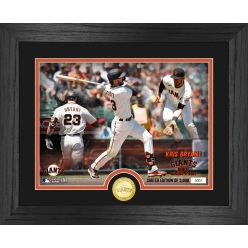Kris Bryant Giants Debut Game Bronze Coin Photo Mint