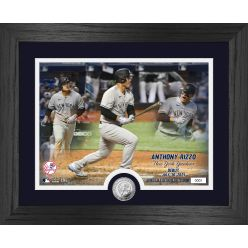 Anthony Rizzo Yankees Debut Game Silver Coin Photo Mint