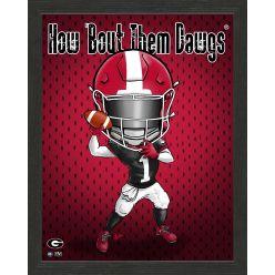 University of Georgia Bulldogs Framed Collegiate Dynamo