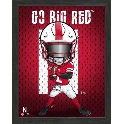 University of Nebraska Cornhuskers Framed Collegiate Dynamo