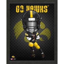 University of Iowa Hawkeyes Framed Collegiate Dynamo