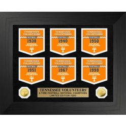 University of Tennessee Volunteers National Champions Deluxe Banner Collection