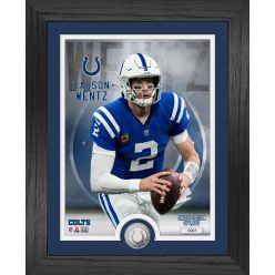 Carson Wentz Indianapolis Colts Silver Coin Photo Mint