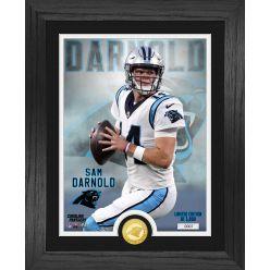 Sam Darnold Carolina Panthers Bronze Coin Photo Mint