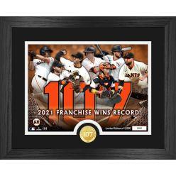 San Francisco Giants Franchise Wins Record Bronze Coin Photo Mint