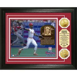 Ozzie Smith Baseball HOF Gold Coin Photo Mint