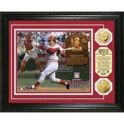 Johnny Bench Baseball HOF Gold Coin Photo Mint