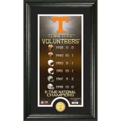 """University of Tennessee """"Legacy"""" Supreme Bronze Coin Panoramic Photo Mint"""