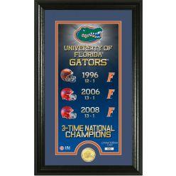 "University of Florida ""Legacy"" Bronze Coin Panoramic Photo Mint"