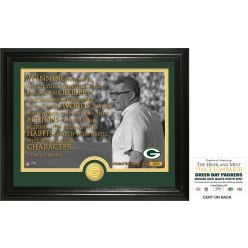 Vince Lombardi Quote Bronze Coin Photo Mint