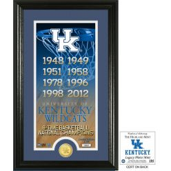 "University of Kentucky Basketball ""Legacy"" Bronze Coin Photo Mint"