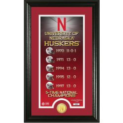 "University of Nebraska ""Legacy"" Bronze Coin Photo Mint"