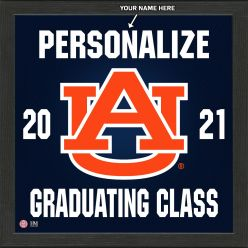 Auburn University Personalized 2021 Graduation Pride Photo Mint