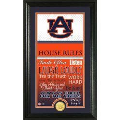 Auburn University Personalized House Rules Photo Mint