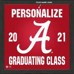 University of Alabama Personalized 2021 Graduation Pride Photo Mint