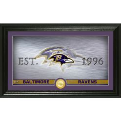 Baltimore Ravens Personalized Man Cave Bronze Coin Photo Mint