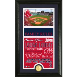 Personalized Boston Red Sox House Rules Photo Mint