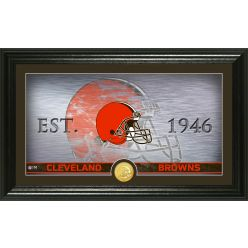 Cleveland Browns Personalized Man Cave Bronze Coin Photo Mint