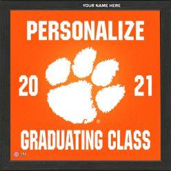 Clemson University Personalized 2021 Graduation Pride Photo Mint