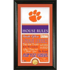 Clemson University Personalized House Rules Photo Mint