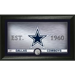 Dallas Cowboys Personalized Man Cave Steel Coin Photo Mint