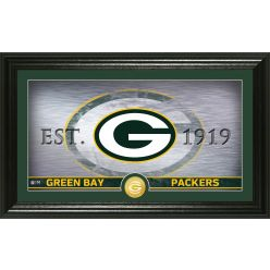 Green Bay Packers Personalized Man Cave Bronze Coin Photo Mint
