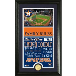 Personalized Houston Astros House Rules Photo Mint