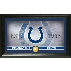 Indianapolis Colts Personalized Man Cave Bronze Coin Photo Mint