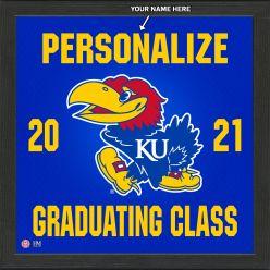 University of Kansas Personalized 2021 Graduation Pride Photo Mint