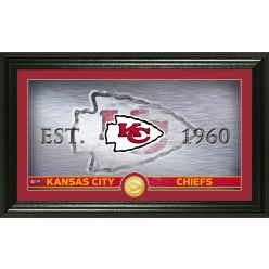 Kansas City Chiefs Personalized Man Cave Bronze Coin Photo Mint