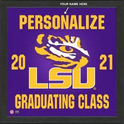 Louisiana State University Personalized 2021 Graduation Pride Photo Mint