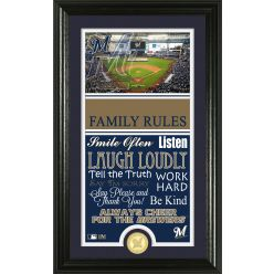 Personalized Milwaukee Brewers House Rules Photo Mint