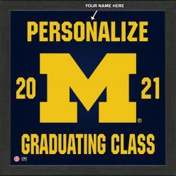 University of Michigan Personalized 2021 Graduation Pride Photo Mint