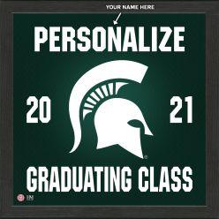 Michigan State University Personalized 2021 Graduation Pride Photo Mint