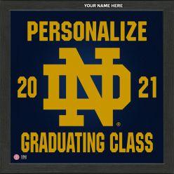 University of Notre Dame Personalized 2021 Graduation Pride Photo Mint