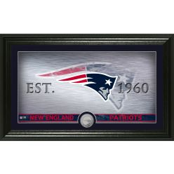 New England Patriots Personalized Man Cave Steel Coin Photo Mint
