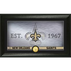 New Orleans Saints Personalized Man Cave Bronze Coin Photo Mint