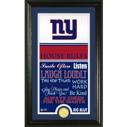 New York Giants Personalized House Rules