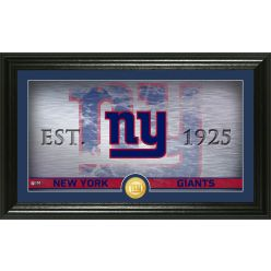 New York Giants Personalized Man Cave Bronze Coin Photo Mint