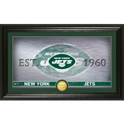 New York Jets Personalized Man Cave Bronze Coin Photo Mint