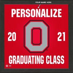 Ohio State University Personalized 2021 Graduation Pride Photo Mint