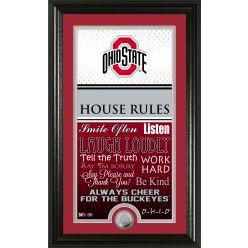 Ohio State University Personalized House Rules Photo Mint